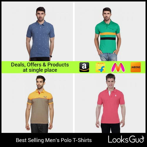 0dd49895 Polo T-shirts for Men: Buy Polo T-shirts Online at Best Prices in India ...