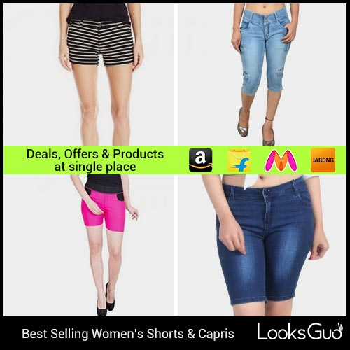 a18d183e826 Buy Shorts   3 4th Capri Pants for Women online in India