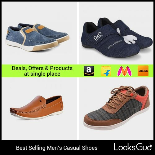 Casual Shoes for Men  Buy Casual Shoes Online in India at Cheapest ... 2047f947b