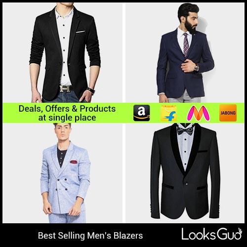 1cad63c8099f Blazers for Men: Buy Men's Blazers online in India at Lowest Price ...