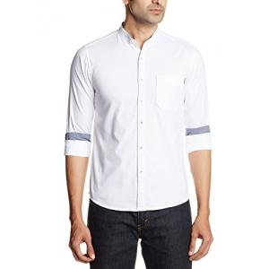 Pepe Jeans Men's Casual Shirt White XL