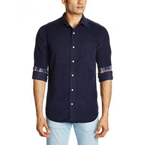 Nautica Men's Casual Shirt Peacoat