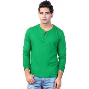 Top Notch Solid Men's Henley T-Shirt
