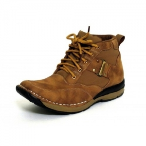 FBT Men's Camel Brown Synthetic Boots