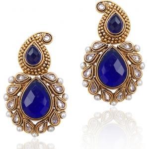 Adiva Copper Dangle Earring