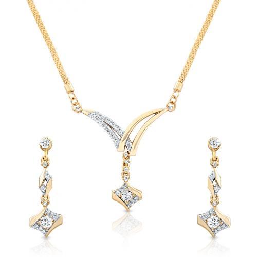 Oviya Brass, Alloy Jewel Set