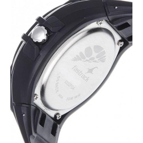Fastrack NE9332PP02 New OTS Black Analog Dial Watch