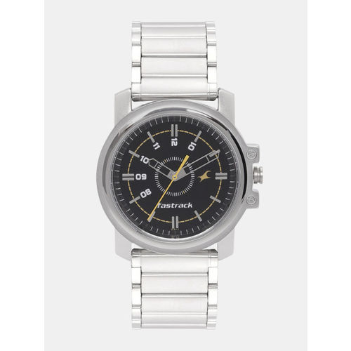 Fastrack Analog Black Dial Watch