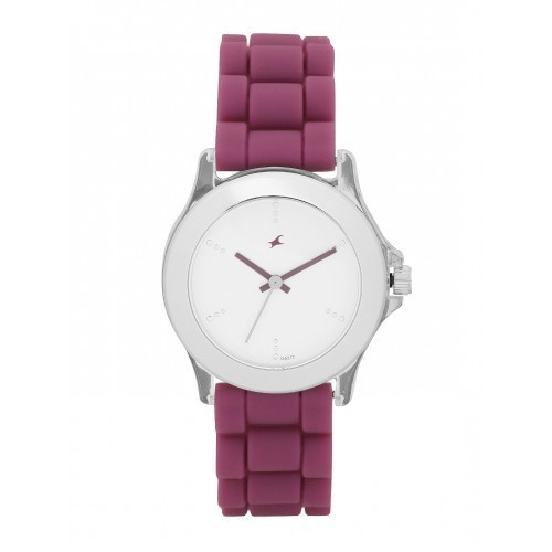 Fastrack Women White Analogue Watch NK9827PP06