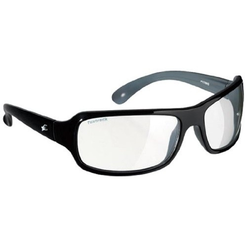 Fastrack White Poly Carbonate Wrap-around Sunglasses