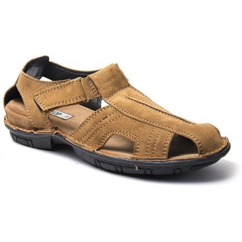 3beffd4f5f6 Buy Binutop Brown Leather Sandals online