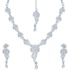 Sukkhi Australian Diamond Stone Studded Jewel Set