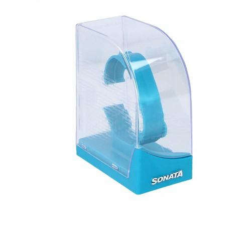 Sonata NJ7987YL02W White Analog Dial Watch