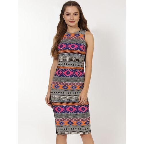 Sassafras A-line Blue Mid Thigh Length Dress