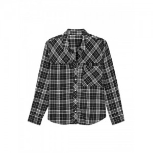 next Women Grey Comfort Regular Fit Checked Casual Shirt