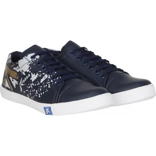 Kraasa Deal Navy Blue Sneakers For Men