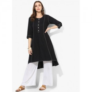 Shree Black Solid Tunic