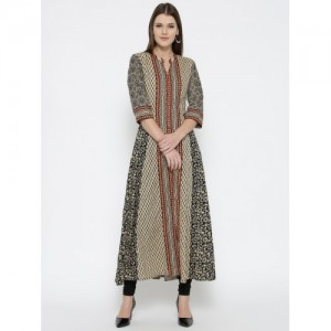 Shree Beige Printed Kurta