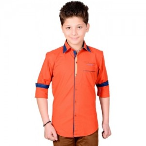 Anry Boys Solid Casual Shirt