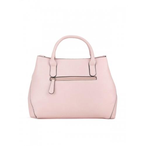 Lavie Pink Solid Handheld Bag