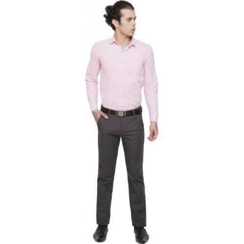 AD & AV Regular Fit Men Grey Trousers