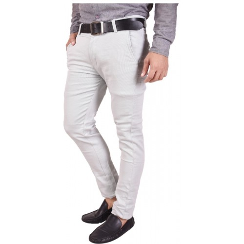 Nation Polo Club Slim Fit Men's Grey Trousers