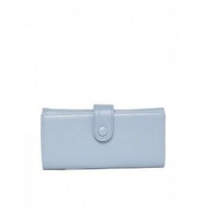 Lino Perros Blue Polyurethane (Pu) Clutch