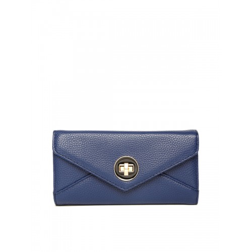 Lino Perros Blue Faux Leather Wallet