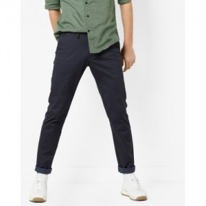 U.S. Polo Assn. Textured Flat-Front Trousers