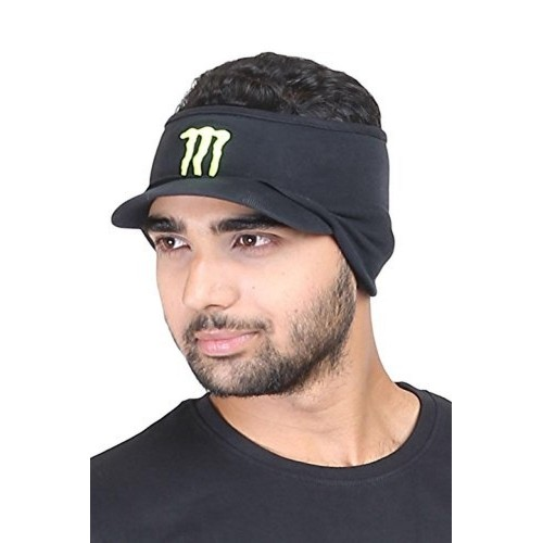 5dc938e8ab6c4 Buy FabSeasons Black Cotton Winter Hat For Men online