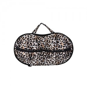 Flipco ® Multicolor Lingerie Bra Bag Travel Organizer Small Compact Bra, Organizer case, Travel Bag bra Storage Bag - 1 pcs