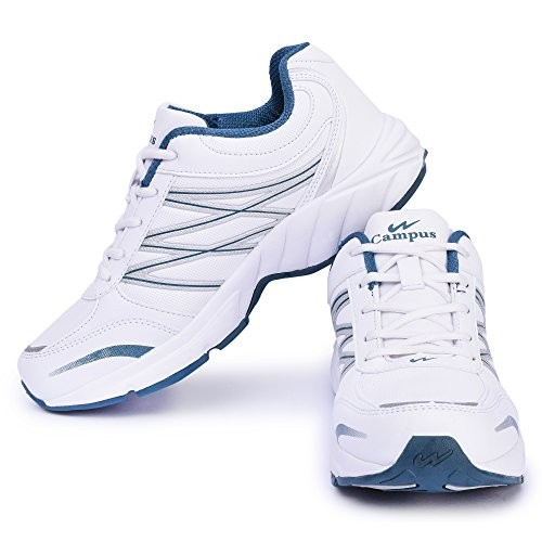 Buy Campus White Running Shoes For Men