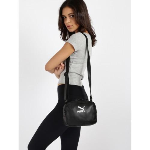 Buy Puma Unisex Black Prime Mini Reporter P Sling Bag online ... e824e60f98422