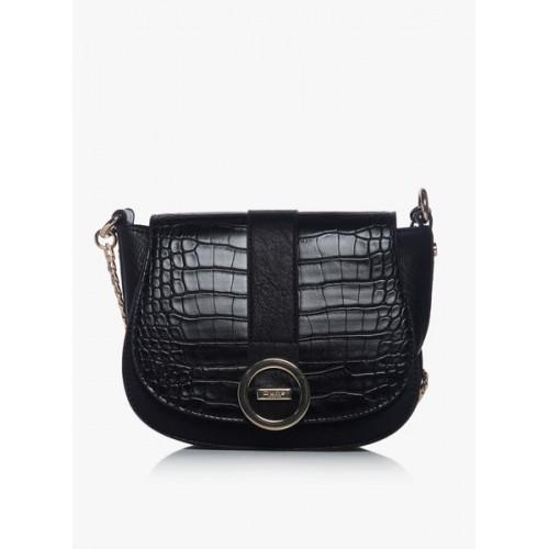 70550074d Buy Dune London Women Black Genuine Leather Sling Bag online ...