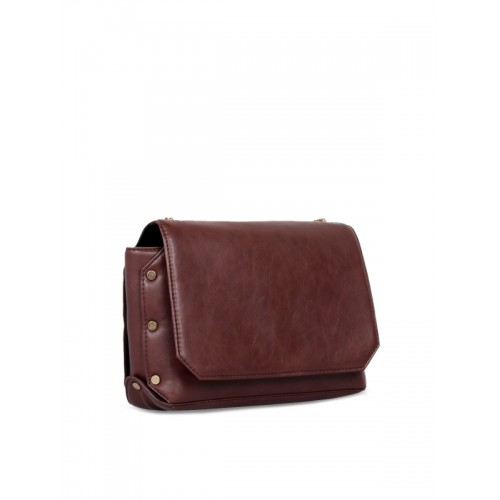 Berrypeckers Brown Solid Sling Bag