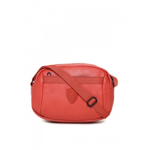 e660faaf7a77 Buy Puma Red Scuderia Ferrari LS Small Sling Bag online