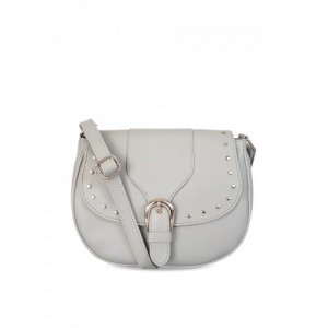 Toteteca Off-White Solid Sling Bag