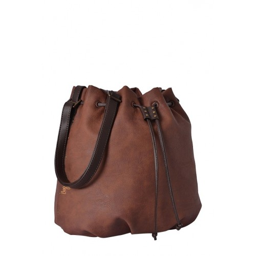 Baggit L Lumber Y G Tinsel Brown Sling Bag