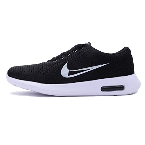 Dimara Men's Black Canvas Sports Shoes