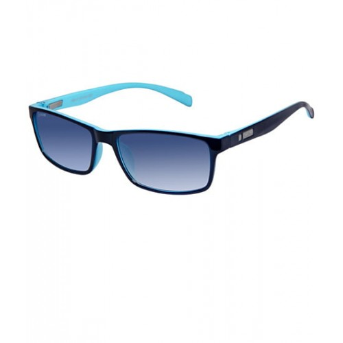 d0e8342c0a9 Buy Cardon Blue Rectangular   UV Protected Sunglass online ...