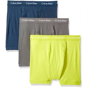 Calvin Klein Men's Three-Pack Cotton Classic Boxer Briefs