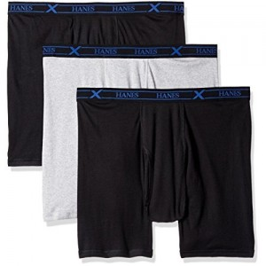 Hanes Men's 3-Pack X-Temp Big and Tall Boxer Brief