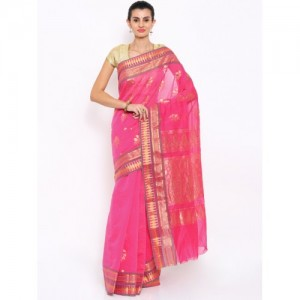 Sudarshan Silks Pink Traditional Saree