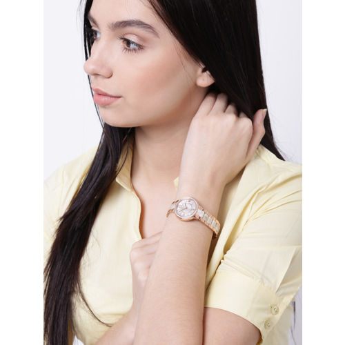 Fossil Women Mother-of-Pearl Dial Watch ES3716I
