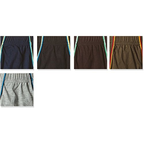 Euro Men's Cotton Brief (Pack of 5) (Colors May Vary)