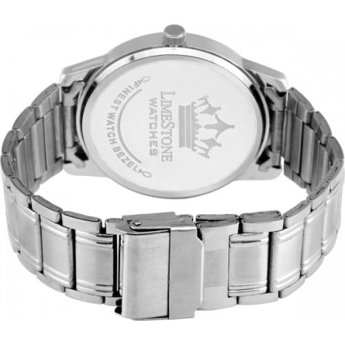 LimeStone LS2726 Day Metal Strap Analog Watch For Men