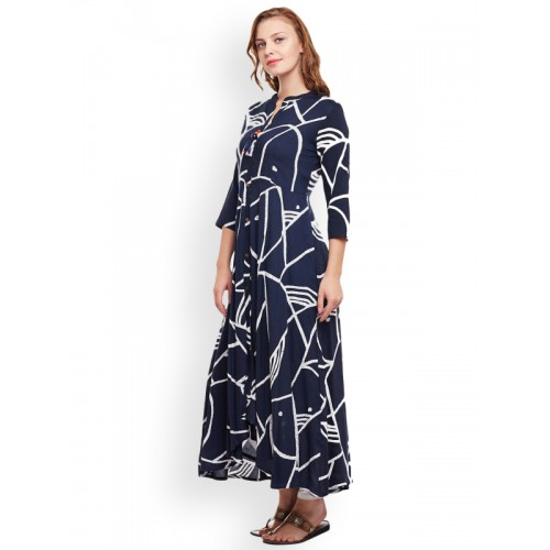 Anaisa Abstract Women's A-line Kurta