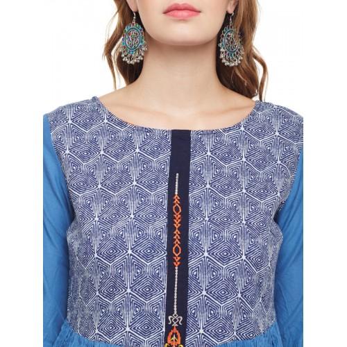 Anaisa Embroidered Women's Anarkali Kurta