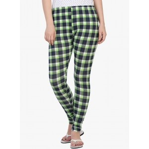 27Ashwood Green Cotton Checked Leggings