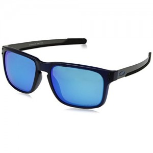 Oakley UV Protected Rectangular Men's Sunglasses - (0OO938493840357|57|Prizm Sapphire Color)